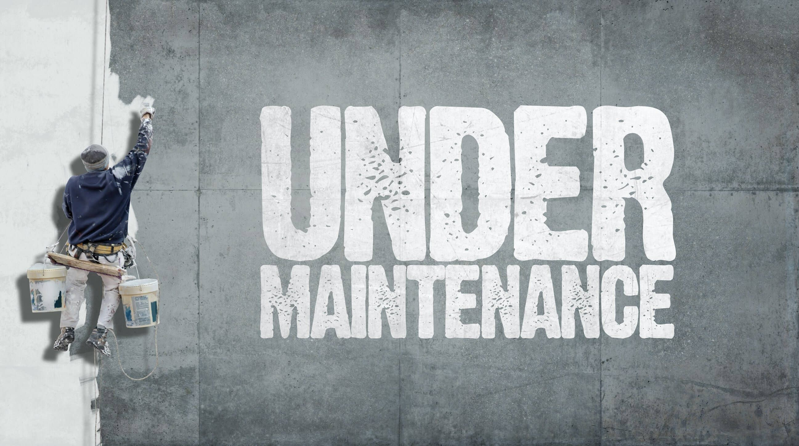 We are under maintenance